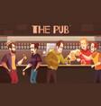 beer pub flat