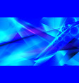 blue futuristic abstract background vector image vector image