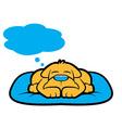 Doggy Dream vector image
