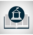 education opened book university vector image