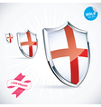 I Love England Flag vector image vector image