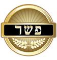 Kosher vector image vector image