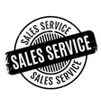 sales service rubber stamp vector image vector image