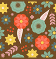 seamless floral pattern suitable for use as vector image