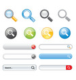 search button icon symbol design element website vector image