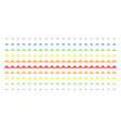 treasure bricks shape halftone spectral effect vector image