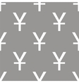 Yen seamless pattern vector image vector image