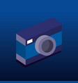 camera photographic isometric icon vector image