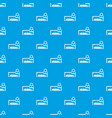 car and padlock pattern seamless blue vector image vector image