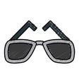 eyeglasses accessory fashion object element vector image vector image