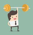 financial fitness vector image