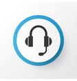 headphone icon symbol premium quality isolated vector image vector image