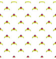 Little princess crown pattern seamless vector image