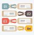 paper price tag vector image vector image
