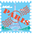 Paris drawing vector image