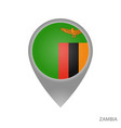 zambia point vector image