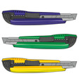 isolated cutters vector image