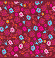flowers collection-flowers in bloom vector image vector image