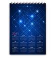 Future Calendar vector image vector image
