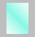 halftone square background pattern page template vector image vector image