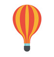 icon symbol art design of air travel balloon vector image vector image