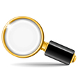 Magnifier vector image vector image