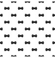 trendy bow tie pattern seamless vector image vector image