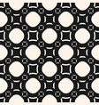 funky geometric seamless pattern with circles vector image vector image