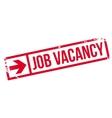 Job vacancy stamp vector image vector image