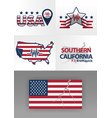 logo for earthquake south california 71 vector image