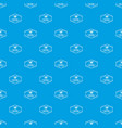 mail pattern seamless blue vector image vector image