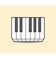 Piano vector image vector image