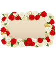 Romantic Flower Board vector image vector image