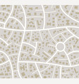 seamless road city map vector image vector image