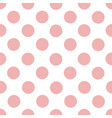 simply seamless pattern of light pink rose vector image
