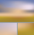 Blurred Abstract Nature Background Field vector image