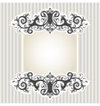 7floral line 76 1 vector image vector image