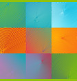 abstract backgrounds collection cover for desing vector image vector image
