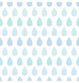 Abstract textile blue rain drops stripes seamless vector image vector image