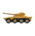 armored infantry vehicle heavy special machinery vector image vector image