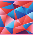 beautiful color from geometric polygons vector image vector image