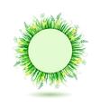 Beautiful green meadow vector image vector image