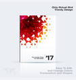business abstract template brochure design vector image vector image