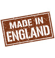 made in england stamp vector image vector image