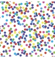Seamless pattern with confetti vector image vector image