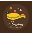 Sewing icon design vector image vector image