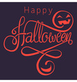 happy halloween dark vector image vector image