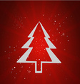 Merry Christmas holidays RED vector image vector image