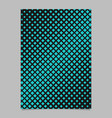 retro halftone diagonal square pattern background vector image vector image