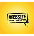 website building vector image